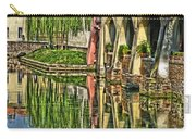 Treviso Canal And Reflections Carry-all Pouch