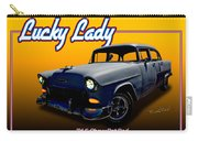 Tri-5 Chevy Rat Rod Lucky Lady Carry-all Pouch