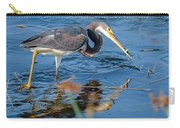 Tri With Fish Carry-all Pouch