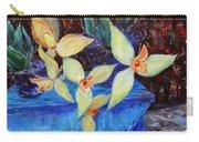 Triangular Blossom Carry-all Pouch