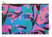 Tribal Graffiti Faces Carry-all Pouch