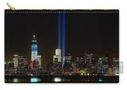 Tribute In Light From Bayonne Carry-all Pouch by Nick Zelinsky