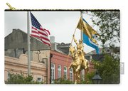 New Orleans Tribute To Joan Of Arc Carry-all Pouch
