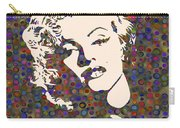 Tribute To Marilyn Monroe Carry-all Pouch