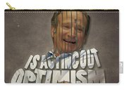 Tribute To Robin Williams Typography Carry-all Pouch