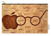 Tribute To Steve Jobs 2 Digital Art Carry-all Pouch