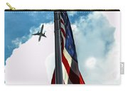 Tribute To The Day America Stood Still Carry-all Pouch by Rene Triay Photography