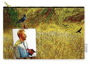 Tribute To Vincent Van Gogh - His Final Days Carry-all Pouch