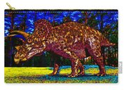 Triceratops Painting Carry-all Pouch