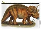 Triceratops Carry-all Pouch