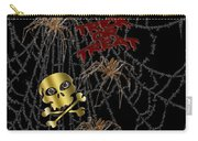 Trick Or Treat Halloween Digital Artwork Carry-all Pouch