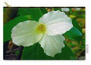 Trillium In The Forest Carry-all Pouch