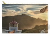 Trinidad Beach Lighthouse Carry-all Pouch by Adam Jewell