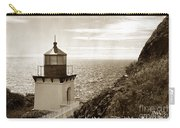 Trinidad Head Light Humboldt County California 1910 Carry-all Pouch