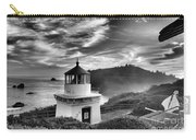 Trinidad Light In Black And White Carry-all Pouch by Adam Jewell