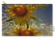 Trio Of Sunflowers Carry-all Pouch