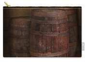 Triple Barrels Carry-all Pouch by Susan Candelario