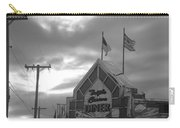 Triple Crown Diner In Black And White Carry-all Pouch