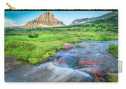 Triple Falls Stream Glacier National Park Carry-all Pouch