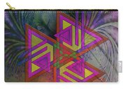 Triple Harmony - Square Version Carry-all Pouch