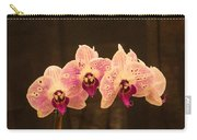 Triple Orchid Arrangement 1 Carry-all Pouch