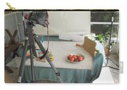 Tripod And Bowl Of Fruit Carry-all Pouch