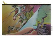 Triptych Left Carry-all Pouch