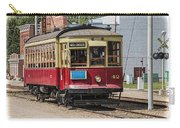 Trolley Car At The Fort Edmonton Park Carry-all Pouch