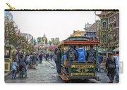 Trolley Car Main Street Disneyland 01 Carry-all Pouch