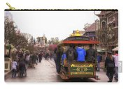 Trolley Car Main Street Disneyland 02 Carry-all Pouch