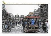 Trolley Car Main Street Disneyland Sc Carry-all Pouch