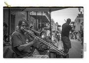 Trombone In New Orleans 2 Carry-all Pouch by David Morefield