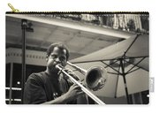 Trombone In New Orleans Carry-all Pouch by David Morefield