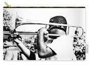 Trombone Man Bw Carry-all Pouch