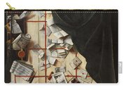Trompe L Oeil With Letters Carry-all Pouch