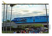 Tron Monorail At Walt Disney World Carry-all Pouch by Thomas Woolworth