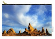 Trona Pinnacles California Carry-all Pouch by Bob Christopher