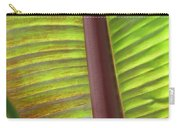 Tropical Banana Leaf Abstract Carry-all Pouch