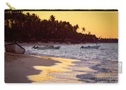 Tropical Beach At Sunset Carry-all Pouch by Elena Elisseeva