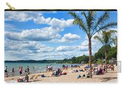 Tropical Beach In Port Dover Carry-all Pouch