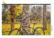 Tropical Bicycle Carry-all Pouch
