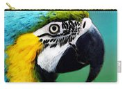Tropical Bird - Colorful Macaw Carry-all Pouch