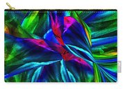 Tropical Bird Sits On A Tropical Tree Carry-all Pouch