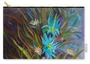 Tropical Blue Carry-all Pouch
