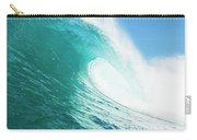 Tropical Blue Ocean Wave Carry-all Pouch