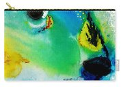 Tropical Fish 2 - Abstract Art By Sharon Cummings Carry-all Pouch