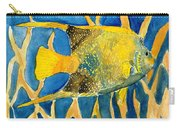 Tropical Fish Art Print Carry-all Pouch