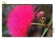 Red Mimosa Flower Carry-all Pouch