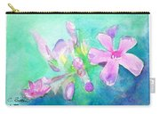 Tropical Flowers Carry-all Pouch