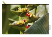 Tropical Fountain Of Seeds Carry-all Pouch